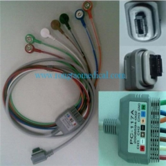 GE SEER Light 7 lead PC-117A ECG cable (Model:2008594-002)